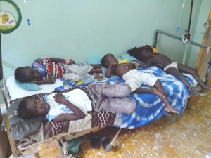 La sala di day-hospital dei bimbi